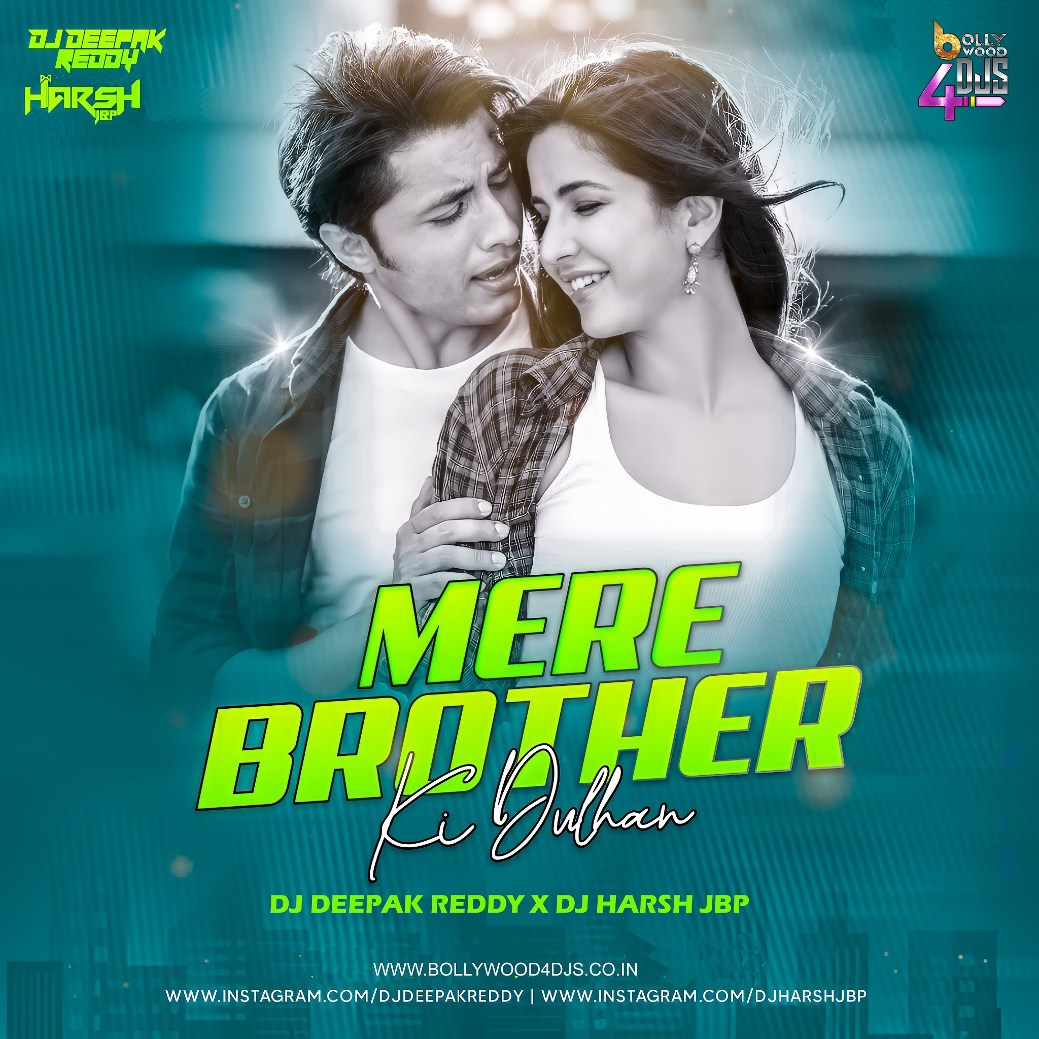 Mere Brother Ki Dulhan (Remix) Dj Deepak Reddy x Dj Harsh Jbp