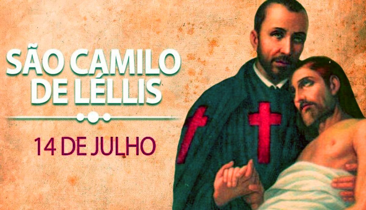 Dia de São Camilo é 14 de Julho