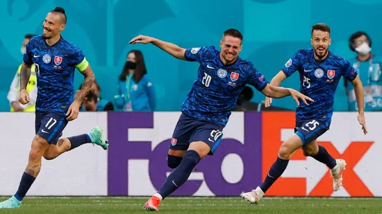 Poland vs Slovakia, Euro 2020 Live Football Score: Mak scores