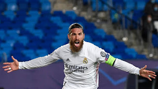 """لاعب وقائد نادي ريال مدريد الإسباني """" سيرخيو راموس """""""