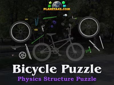 Пъзел на Велосипед