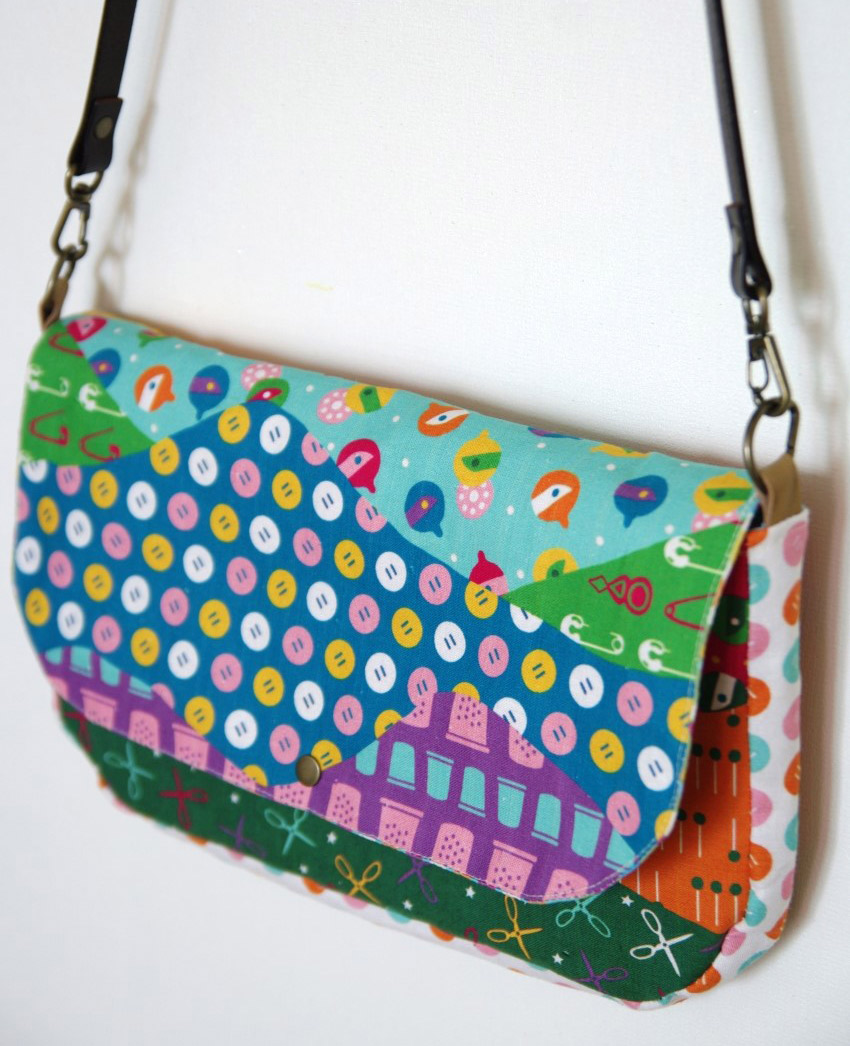 Cross Body Bag Pattern Interesting Inspiration