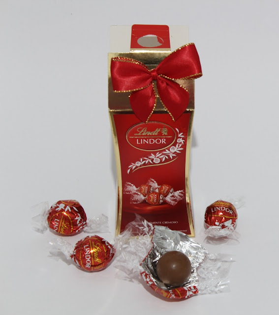 Bombones chocolate con leche de Lindor