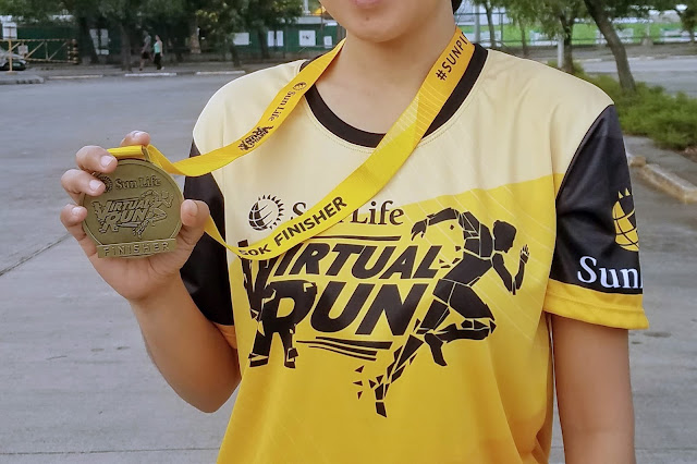 Sun Life Virtual Run 50k Finisher