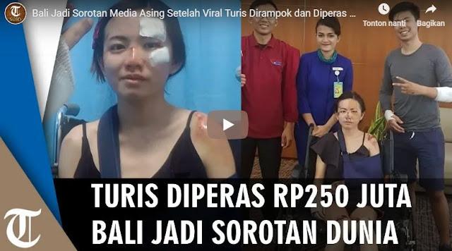 Turis Di Bali Dirampok Dan Diperas 250 Juta Rupiah Oleh Pihak Hotel Karena Skuter Hotel Ikut Hilang