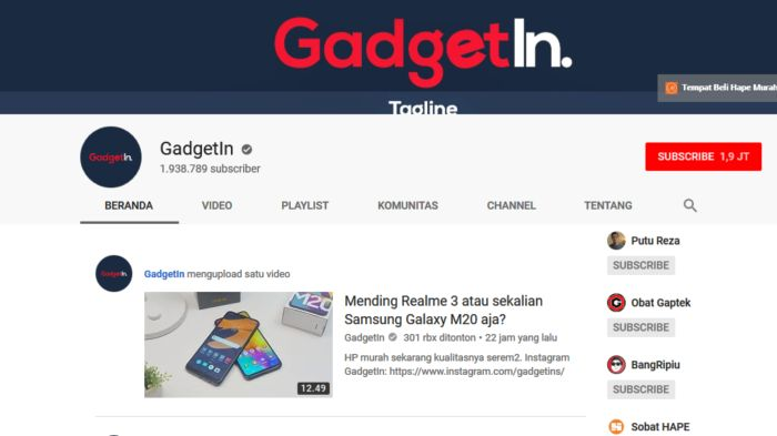 GadgetIn Review dan Unboxing Smartphone