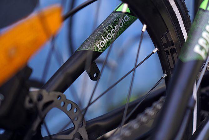 Sepeda Lipat Ecosmo edisi Tokopedia