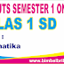 Soal UTS Matematika Online Kelas 1 SD Semester 1 (Ganjil) - Langsung Ada Nilainya