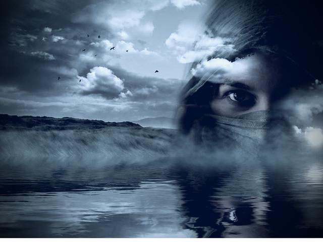 Dein Gesicht im Spiegel, ich spüre was du fühlst, gefühle, liebe, glanz der seele, unendlich tiefer ozean der gefühle, blaue augen, unsichtbare gedanken, texte schreiben, silberstunden blog, lyrik, blogger, bild, photo