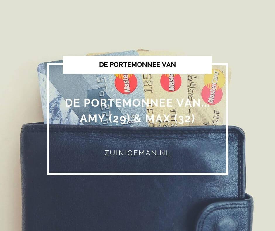 De portemonnee van Amy (29) & Max (32)