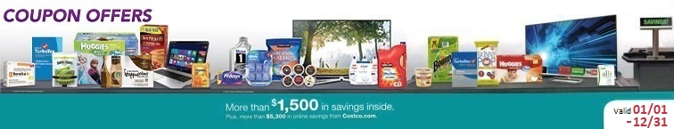 Download the Current January 2021 Costco Coupon Book for deals and extra savings