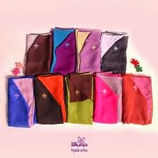 khimar hijab alila bolak balik dua warna