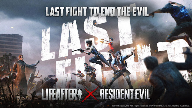 lifeafter x resident evil