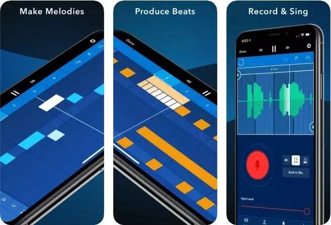 aplikasi editor musik gratis terbaik di iPhone dan iPad-4