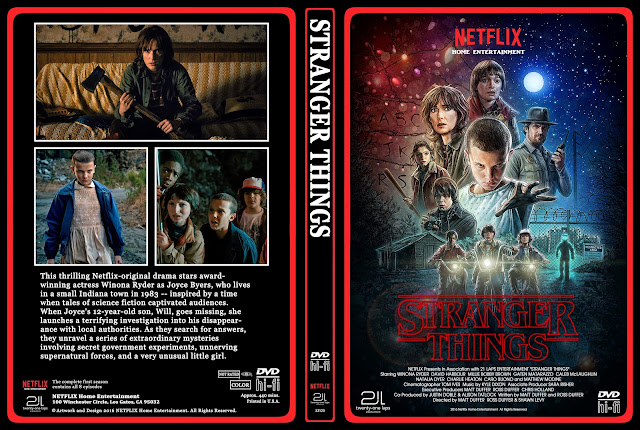 Stranger Things Season 1 DVD Cover