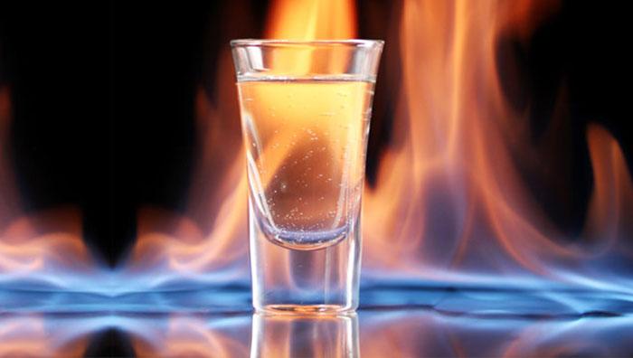 Vodka yang Terkena Matahari Bisa Timbulkan Kebakaran