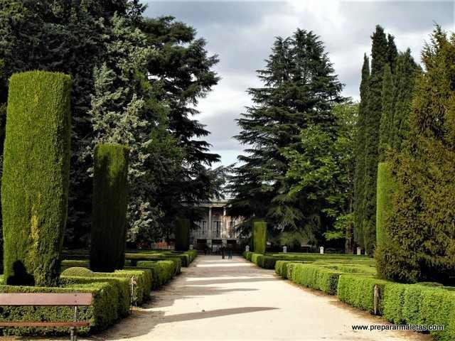 jardines El Capricho de Madrid