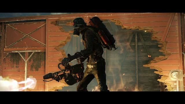 zombie army 4 lanzallamas
