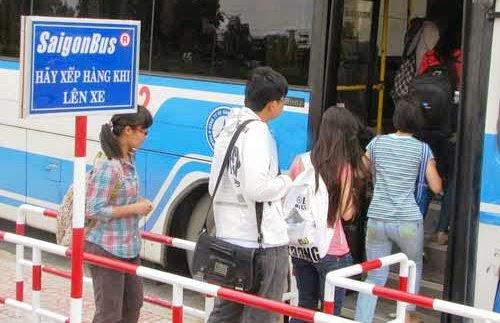 Đi Đại Nam bằng xe buýt
