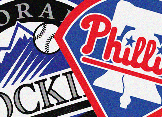 Phillies face the Rockies