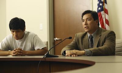 Toni y su padre, en la vista judicial sobre su caso
