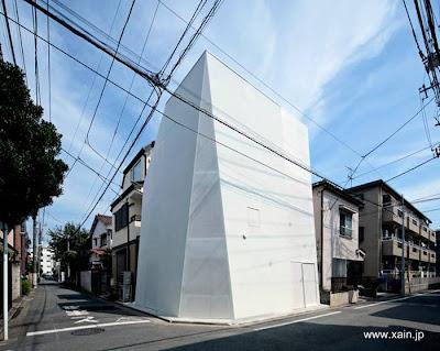 Casa urbana moderna en Japón diseño avanzado