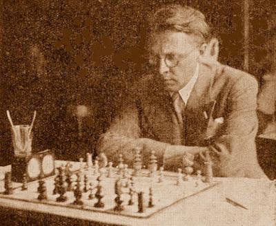 El ajedrecista Viktor Kahn, el vencedor
