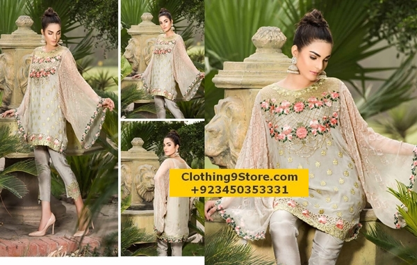 Eid Collection By Maryam Chiffon 2017