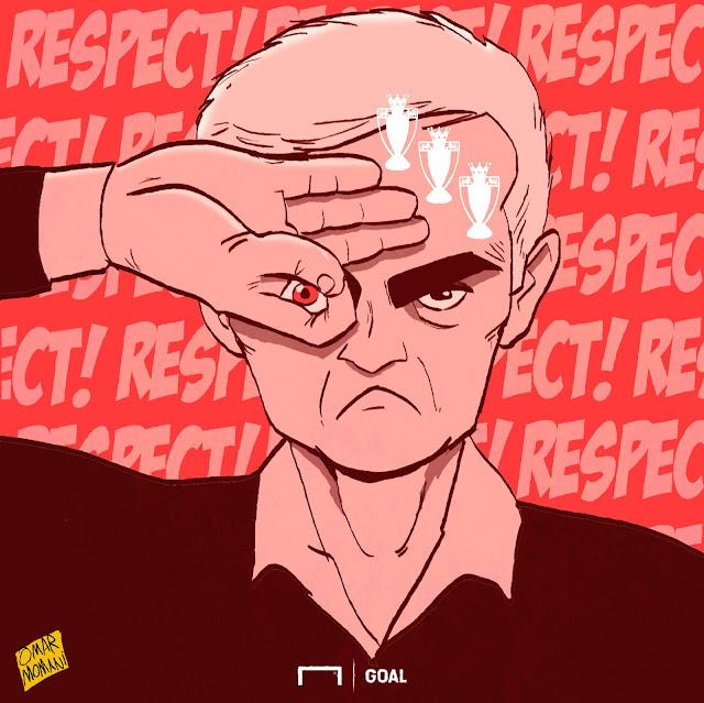 The Mourinho challenge cartoon