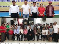 Respon Pdt Rudolf H Pasaribu Beserta BPH Pasaribu Boru Bere Pansurnapitu Saat Penutupan Gathering Family 2019