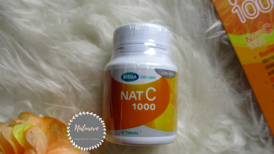 Nat C 1000 Dosis Optimal Tanpa Iritasi Lambung Mega We Care