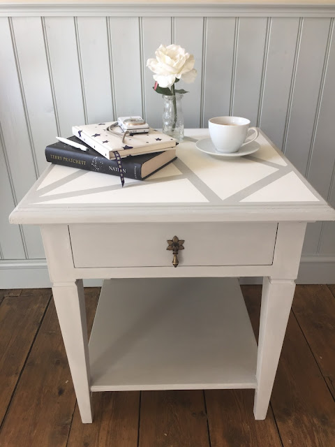 Side Table Upcycling with Chalk Paint