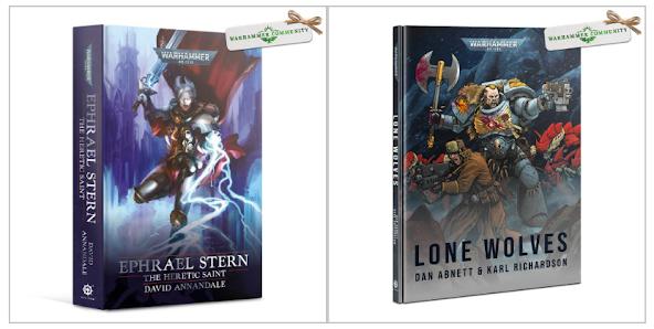 novelas Ephrael Stern y Lone Wolves