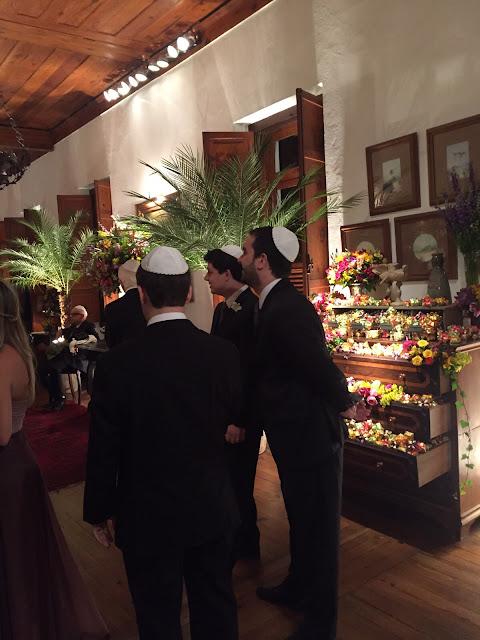 casamento, judaico, homens, quipá, casamento real