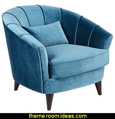 Teal Modern Accent Chair