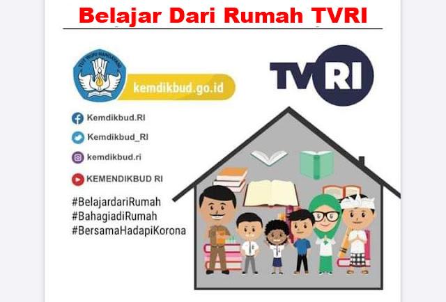 Soal dan Jawaban Materi Belajar Dari Rumah TVRI Kamis, 30 April 2020