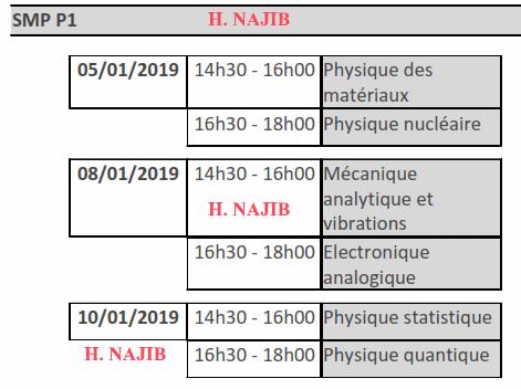 Calendrier Des Examens Sciences Po.178 Calendrier Des Examens Session D Automne 2018 2019