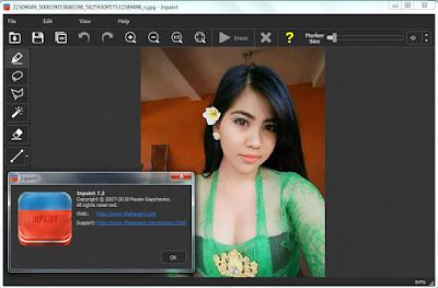 Screenshot Teorex Inpaint 7.2 Full Version
