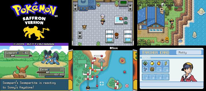 Pokemon Saffron GBA ROM Download