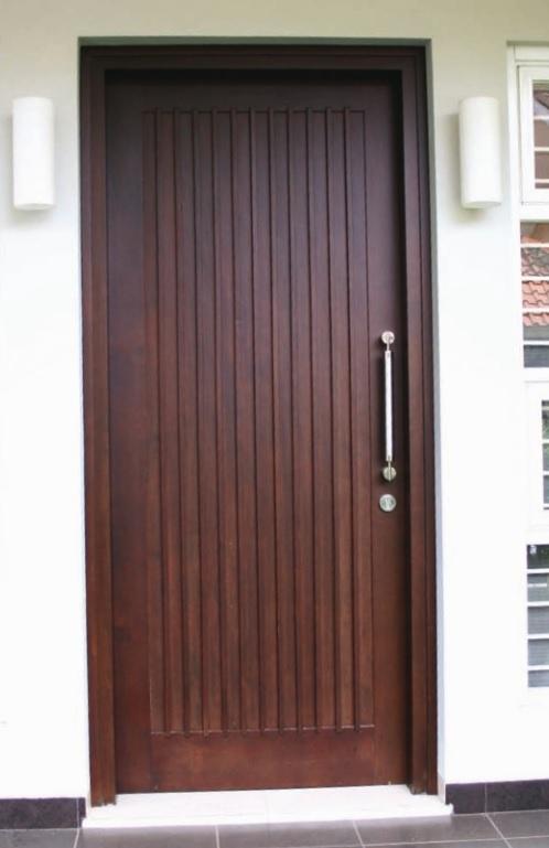 model pintu rumah minimalis 1 pintu terbaru 2020