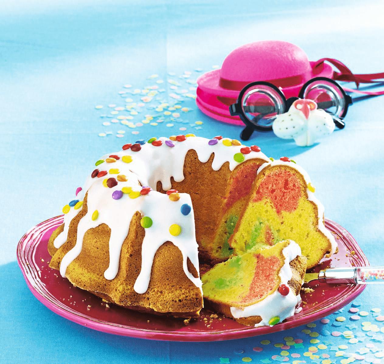 Recette du rainbow cake facile