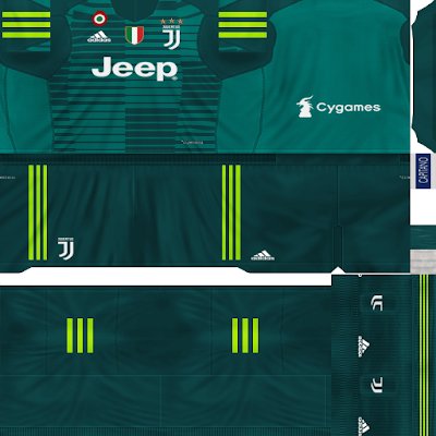 PES 6 Kits Juventus F.C. Season 2018/2019 by Dibu Edition