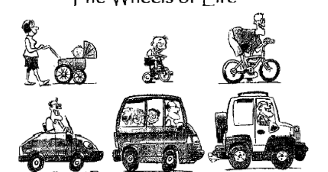 Two Catholic Men and a Blog: Wheels of Life