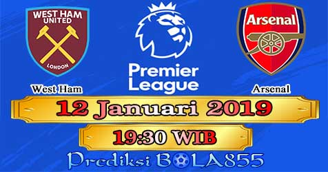Prediksi Bola855 West Ham vs Arsenal 12 Januari 2019
