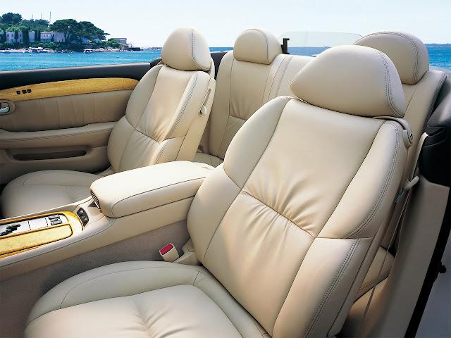 Lexus SC430, Toyota Soarer Z40, wnętrze