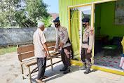 Personil Kompi 2 Batalyon C Pelopor Sambangi Panti Asuhan Bagi Sembako