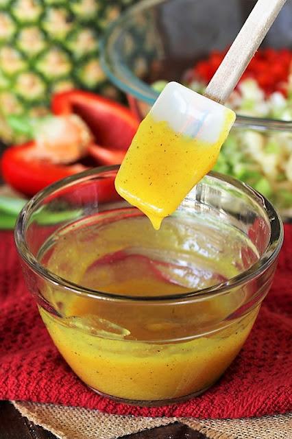 How to Make Pineapple Dressing for Pineapple Shrimp Macaroni Salad Image