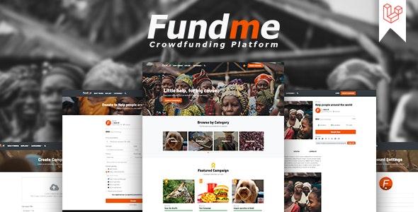 Fundme php script–Crowdfunding Platform