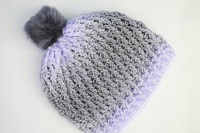5 - Crochet Imagen Gorro gris a crochet y ganchillo muy fácil y sencillo por Majovel Crochet