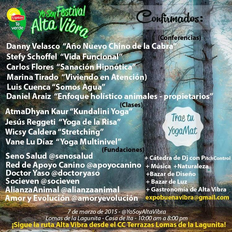 expo alta vibra yo soy festival yoga caracas venezuela